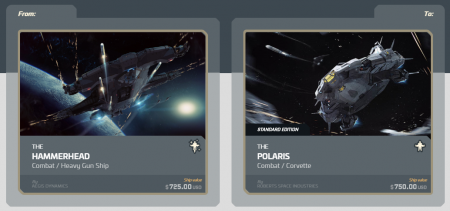 AEGIS Hammerhead to Polaris Upgrade