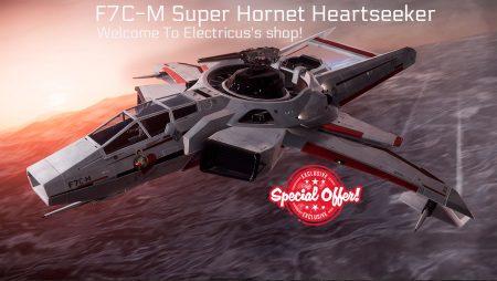 F7C-M Super Hornet Heartseeker