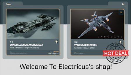 Constellation Andromeda to Vanguard Warden Upgrade CCU